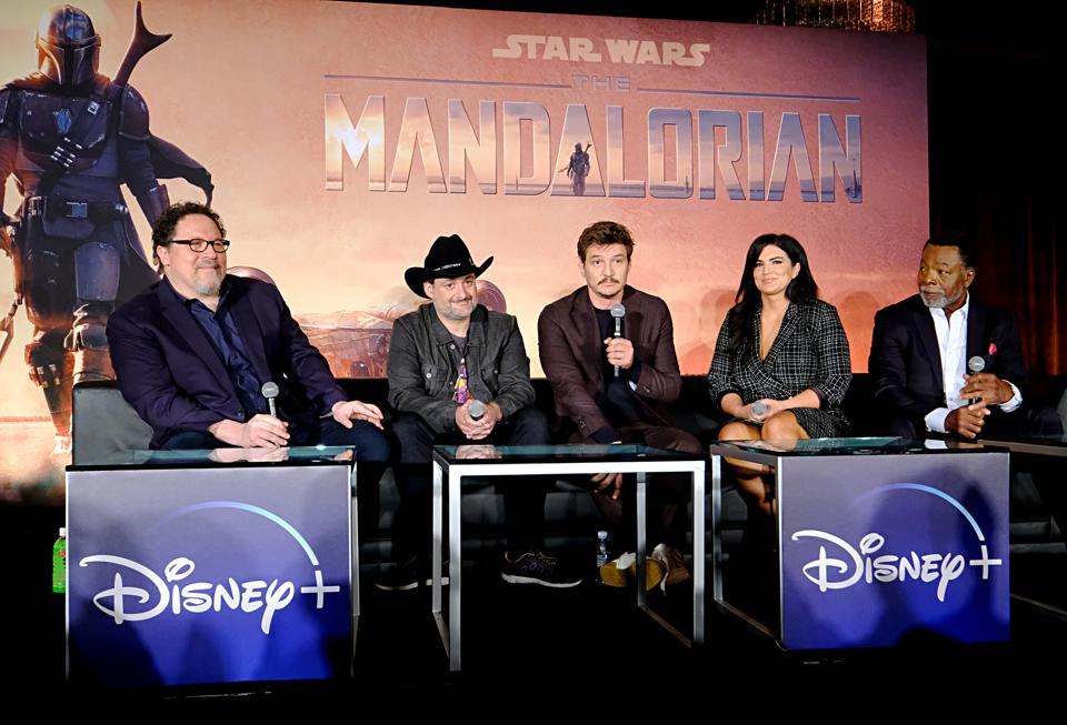 Press Conference for the Disney+ Exclusive Series The Mandalorian