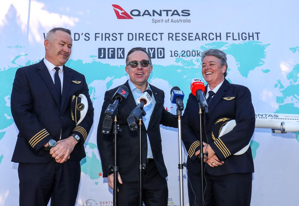Qantas' 19-Hour Flight Was A Great PR Stunt, But As A Research Project? Please.