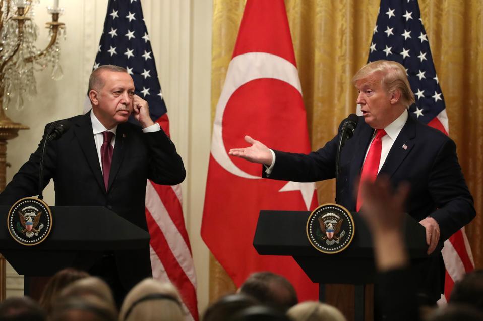 Donald Trump Welcomes Turkish President Recep Tayyip Erdogan To The White House
