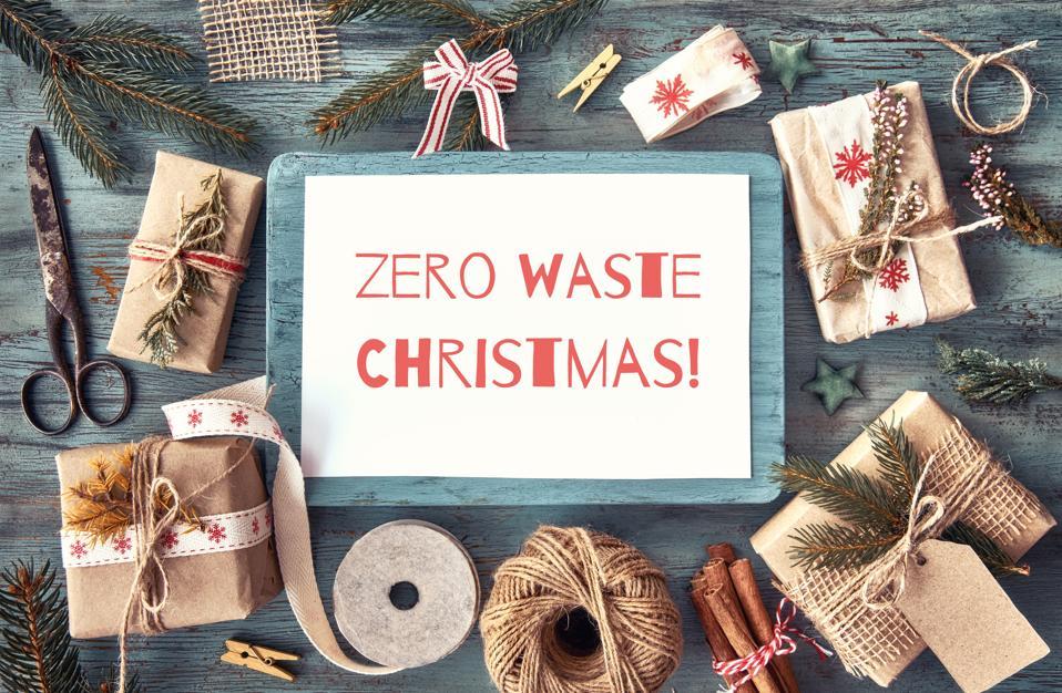 Zero waste Christmas, sustainability
