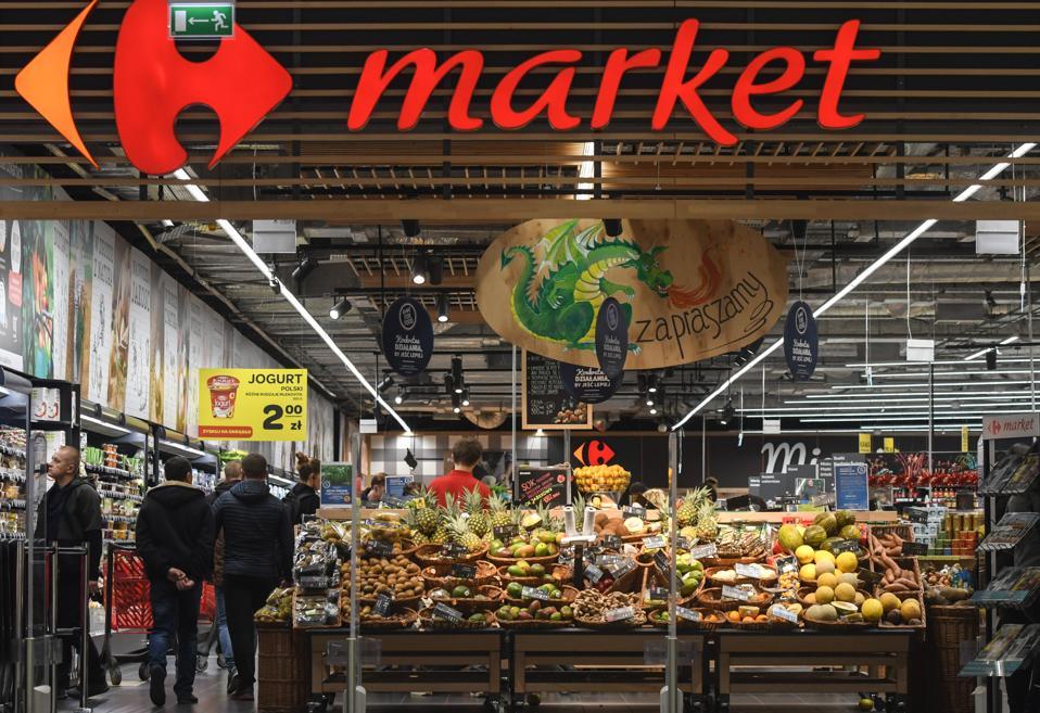 Carrefour In Krakow