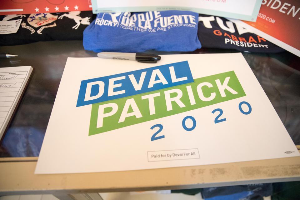Former Massachusetts Governor Deval Patrick Files Paperwork To Run For President In 2020