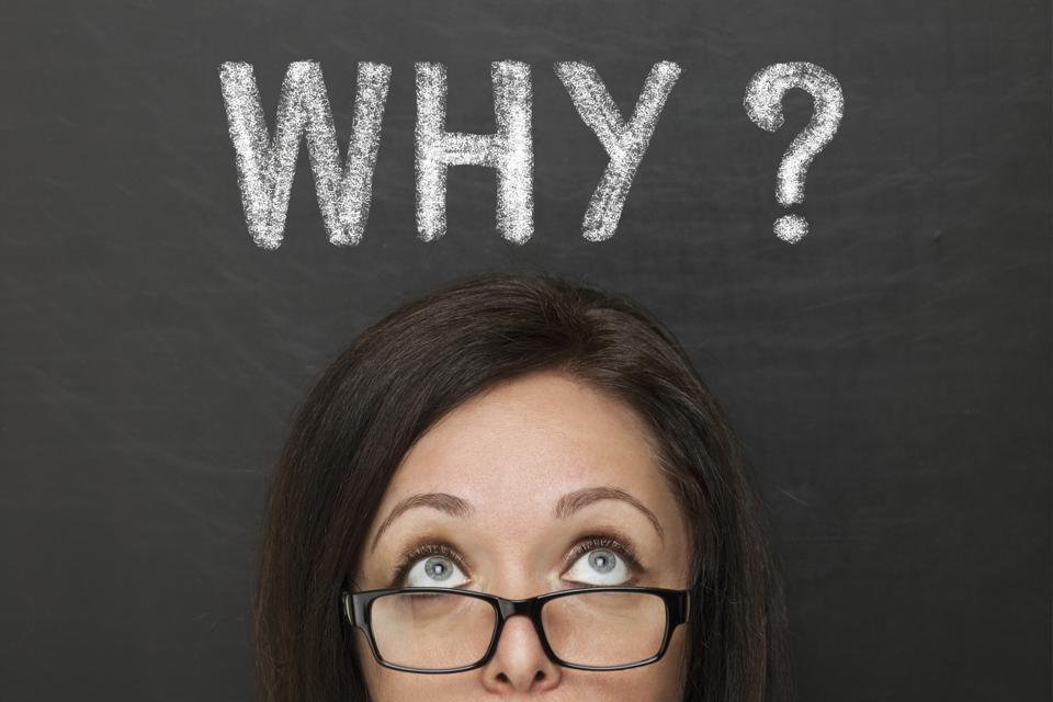 "In 2020, Resolve To Ask ""Why?"""
