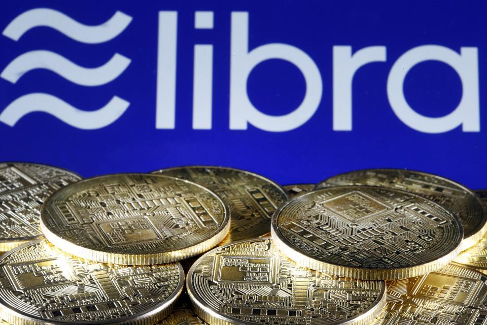 Libra Virtual Currency :  Illustration