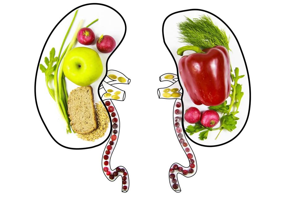 Healthy diet can reduce the risk of kidney disease.