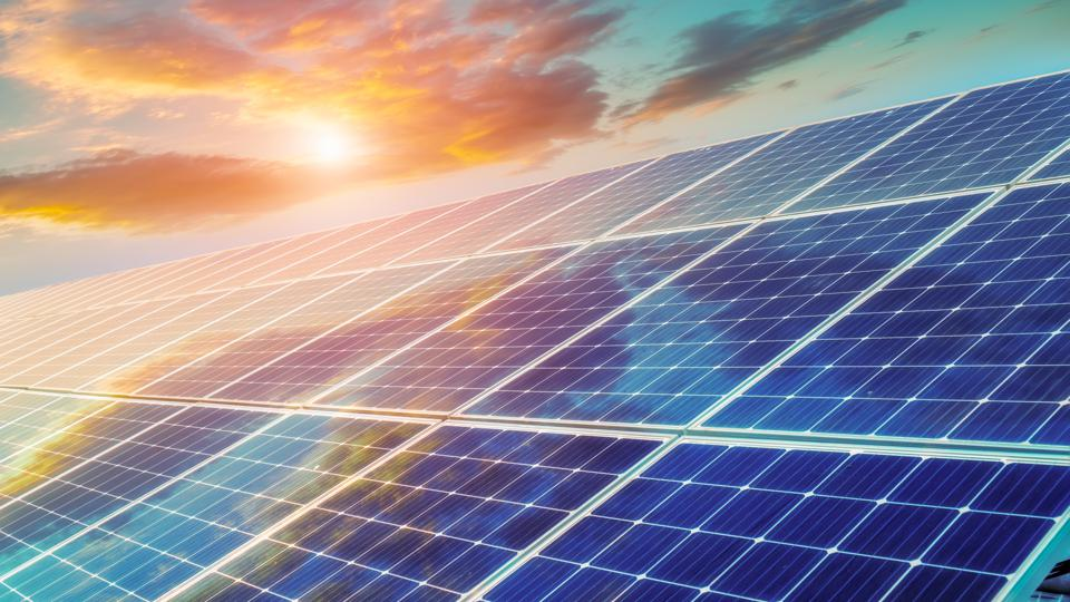 Solar photovoltaic power station