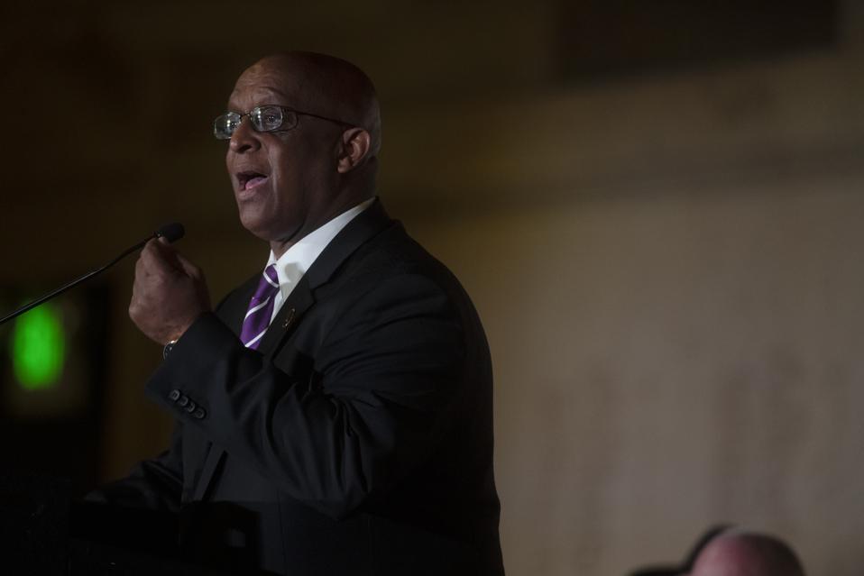 Bernard C. Jack Young is sworn in as  Baltimore Citys 51st Mayor