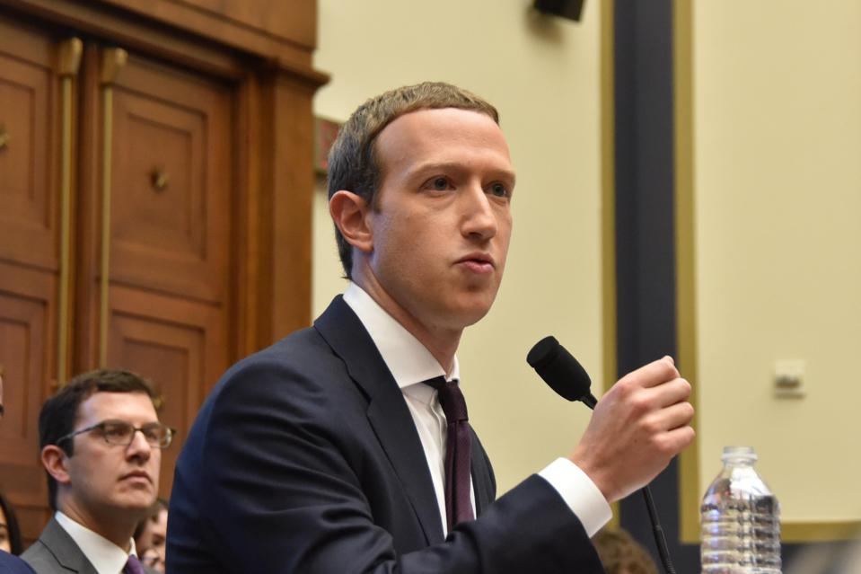 Facebook CEO Mark Zuckerberg Testifies To House Financial Services Committee