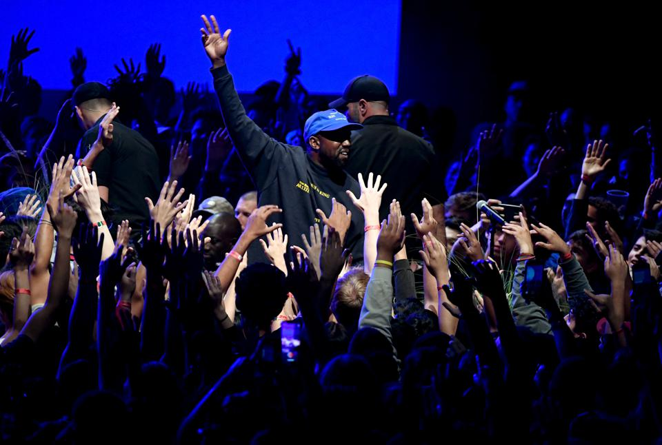 Kanye West's ″Jesus Is King″ Album And Film Experience At The Forum