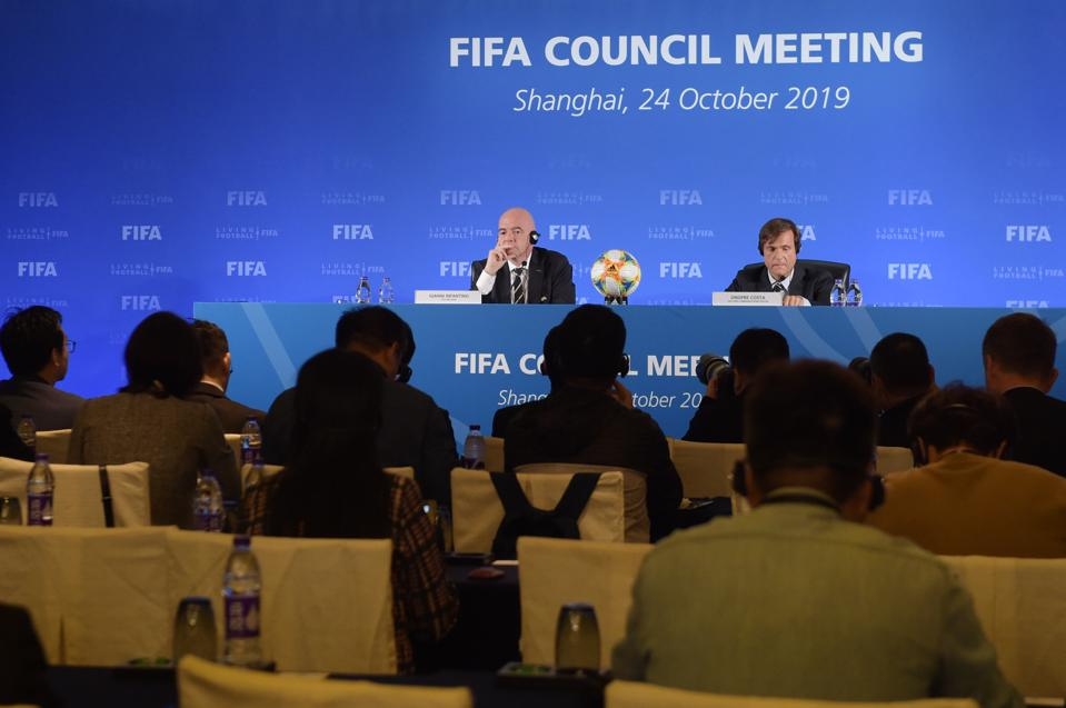 Gianni Infantino Attends FIFA Council Meeting In Shanghai
