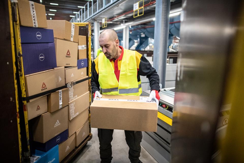 DHL opens new parcel centre