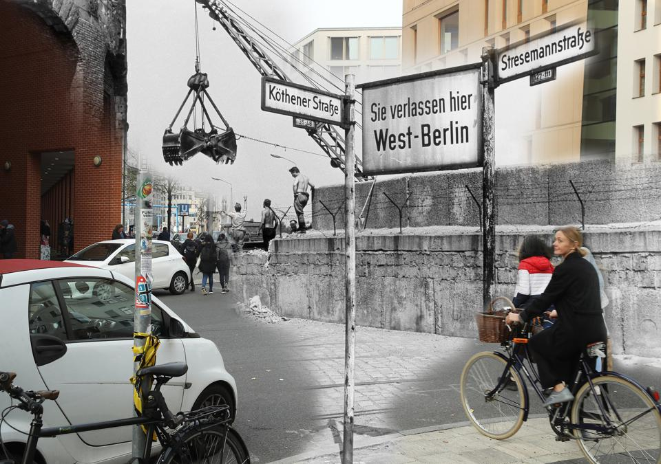 30 Years Since The Fall Of The Berlin Wall: Then And Now