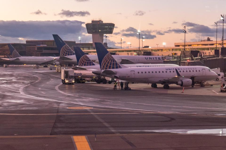 United Airlines At Newark Liberty Airport