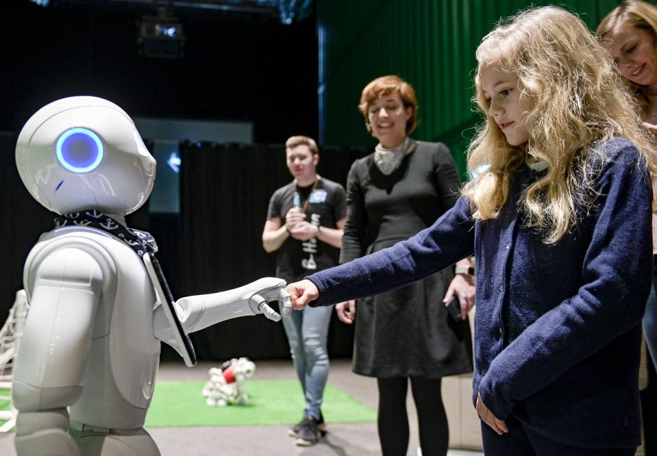 Speed Dating with AI - Meet the Robots at AI Days
