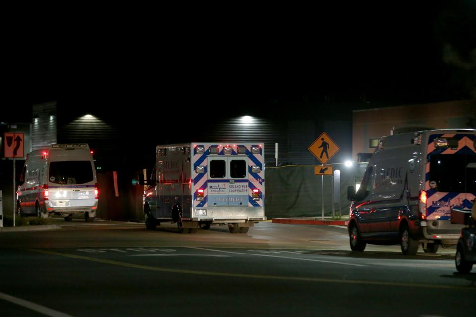 Kincade Fire Evacuations in Santa Rosa