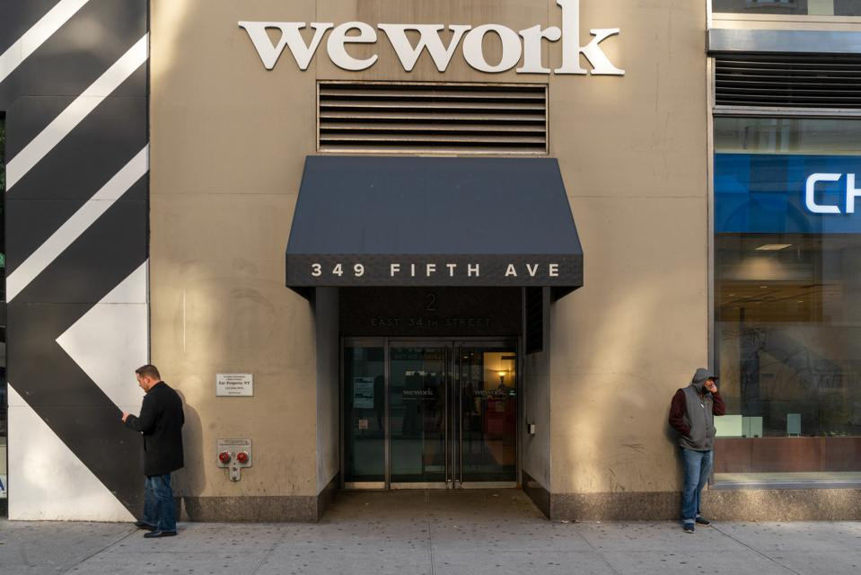 Struggling Office Space Company WeWork Announces Plan To Lay Off 2400 Employees
