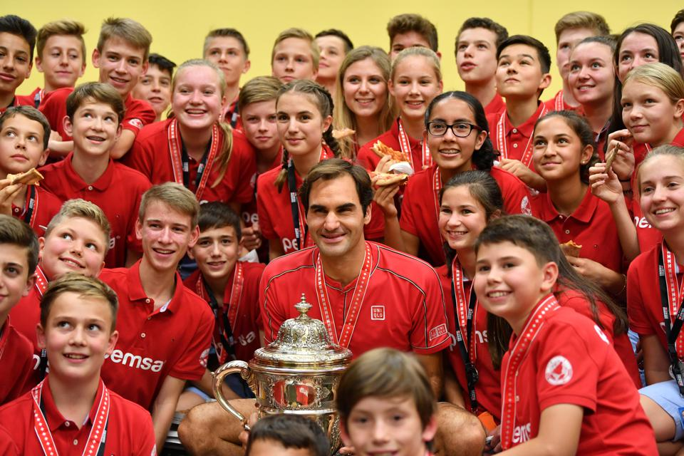 Roger Federer's Face Will Go On Silver Swiss Coin