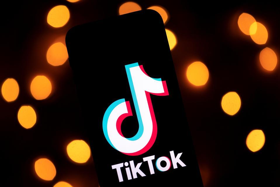 TikTok Video-Sharing Social Media App Logo