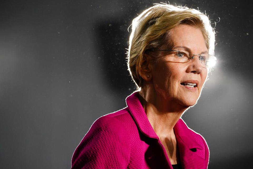Elizabeth Warren Says She Made $1.9 Million From Legal Work Before Office