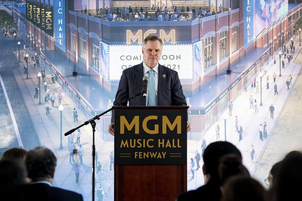 MGM Music Hall at Fenway Groundbreaking