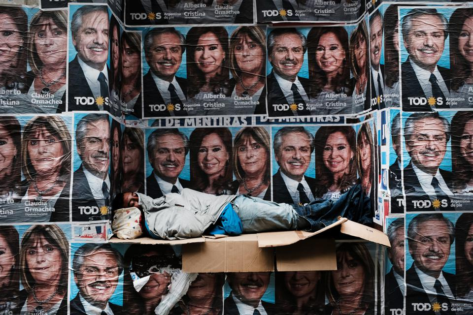 Markets React After Alberto Fernandez Is Elected President In Argentina