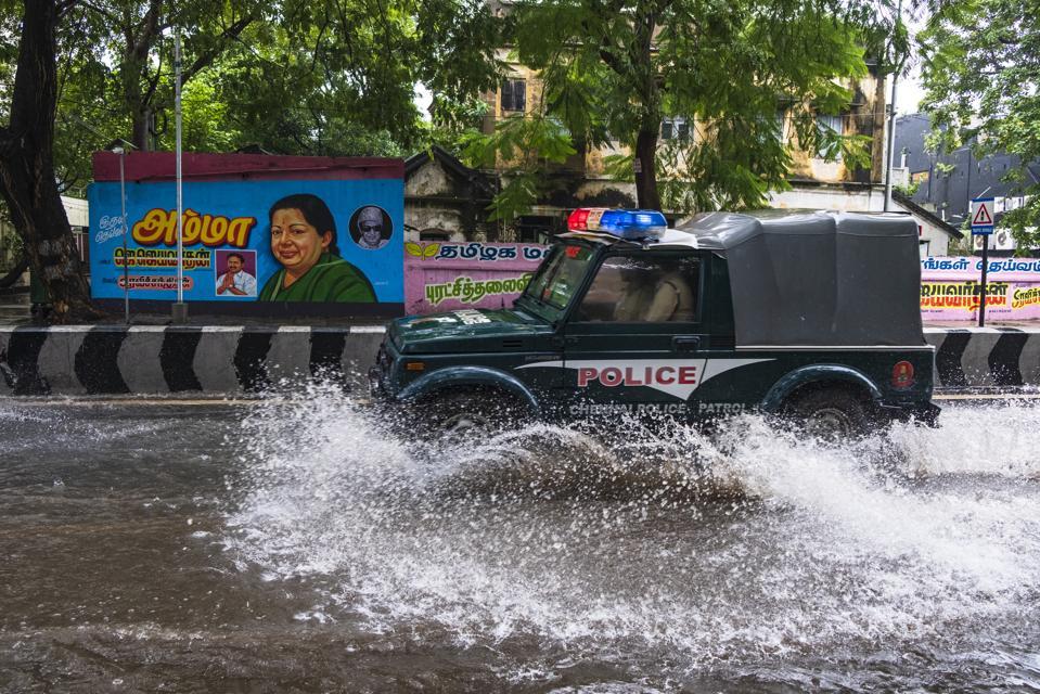 Heavy Rainfall In Chennai