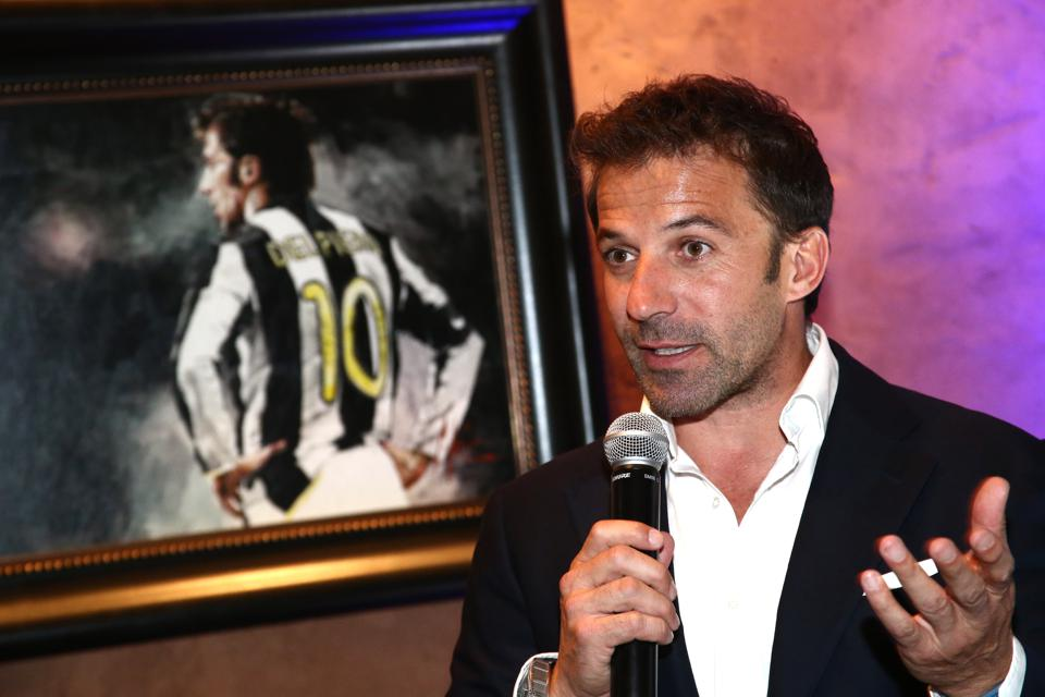 Lina Wertmuller ″True Italian Taste″ Gala Reception Dinner Co-Hosted By The Italy-America Chamber Of Commerce West And Italian Soccer Superstar Alessandro Del Piero At Del Piero's Los Angeles Restaurant N.10