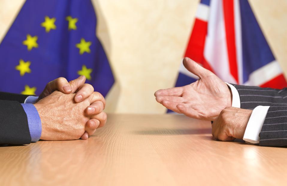 Perbincangan politik UK dan EU Photo Illustration