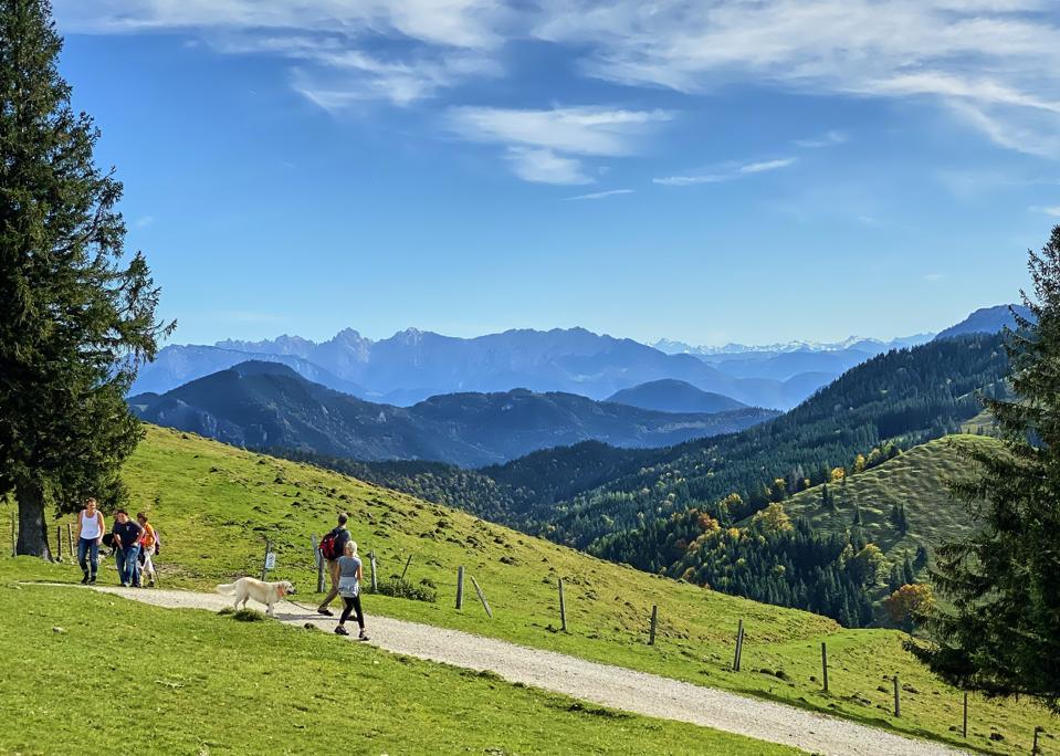 Mountain biking and hiking in Bavaria