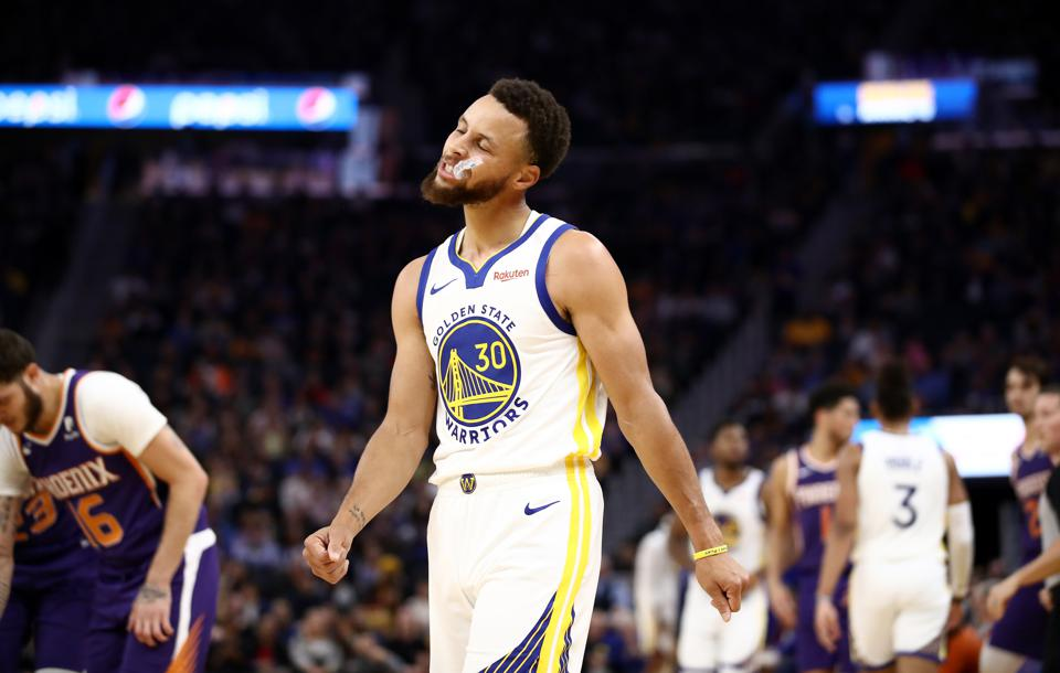 brand new super cheap release info on Steph Curry's Broken Hand Sets Golden State Warriors Up For ...