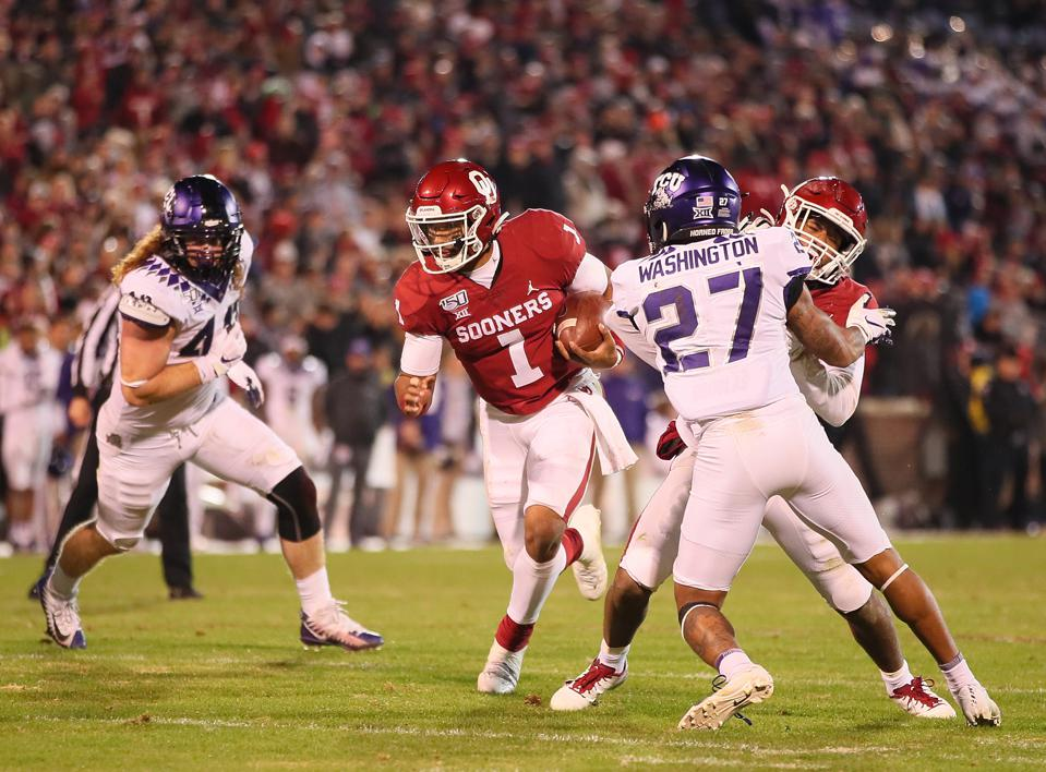 COLLEGE FOOTBALL: NOV 23 TCU at Oklahoma