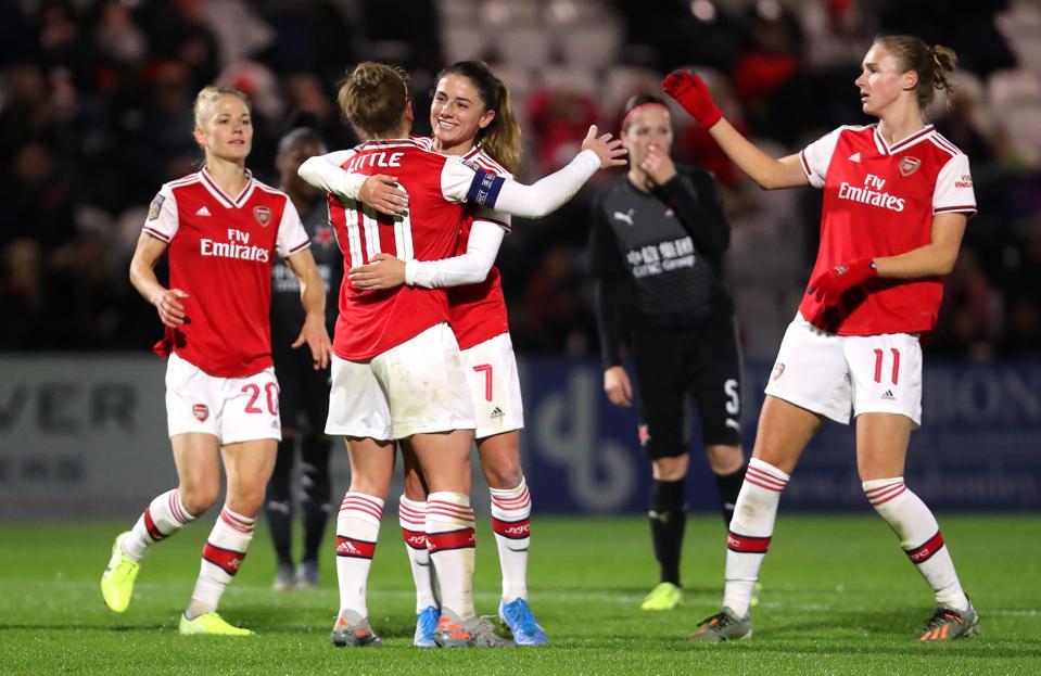 Arsenal Women v SK Slavia Praha - UEFA Women's Champions League Round of 16: Second Leg