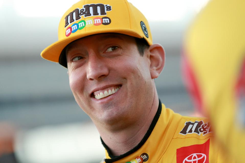 Monster Energy NASCAR Cup Series AAA Texas 500 - Qualifying. Kyle Busch Nascar driver.