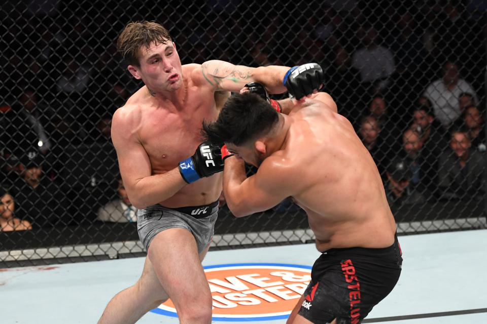 Darren Till Considered Faking An Injury To Get Out Of Fighting At ...