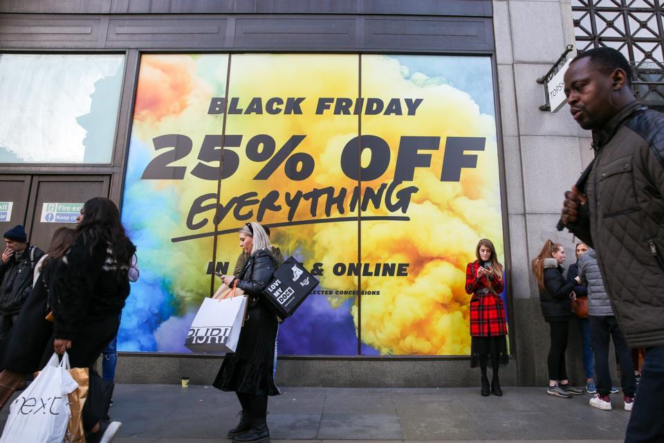 Bargain hunters take advantage of a huge saving as...