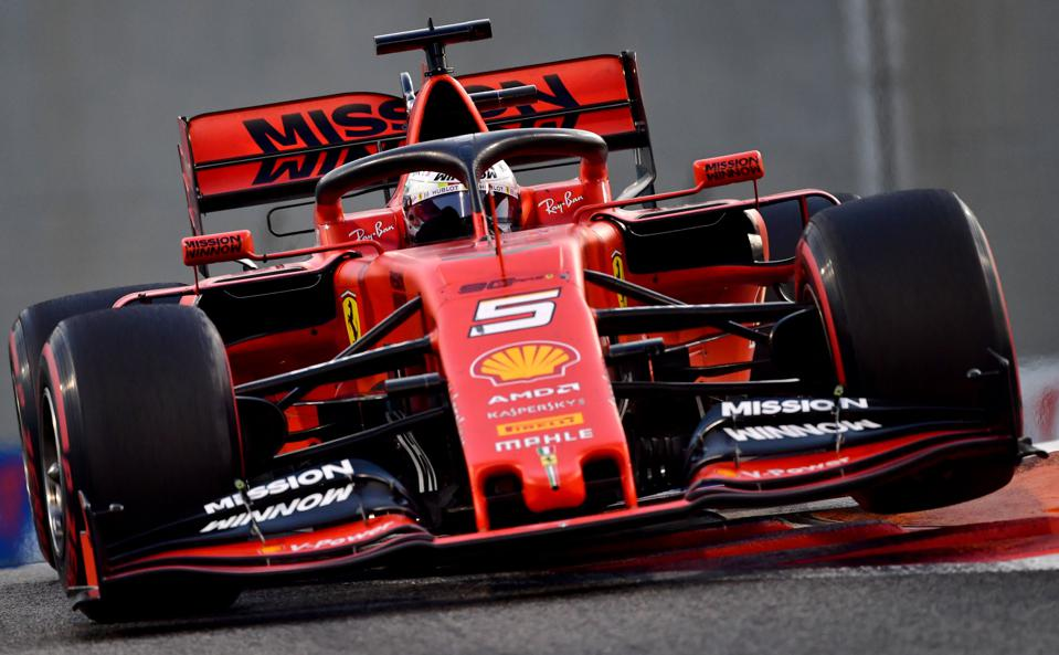 Staff from Ferrari's F1 team could face 14 days of quarantine if they travel to Vietnam for the Grand Prix (GIUSEPPE CACACE/AFP via Getty Images)