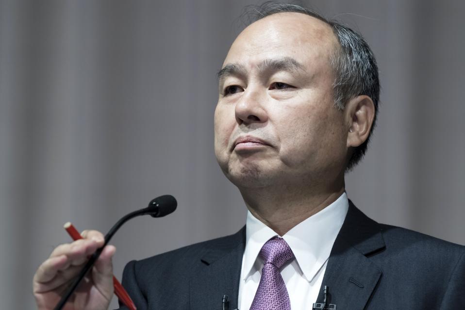 SoftBank Group CEO Masayoshi Son Announce Second-Quarter Earnings