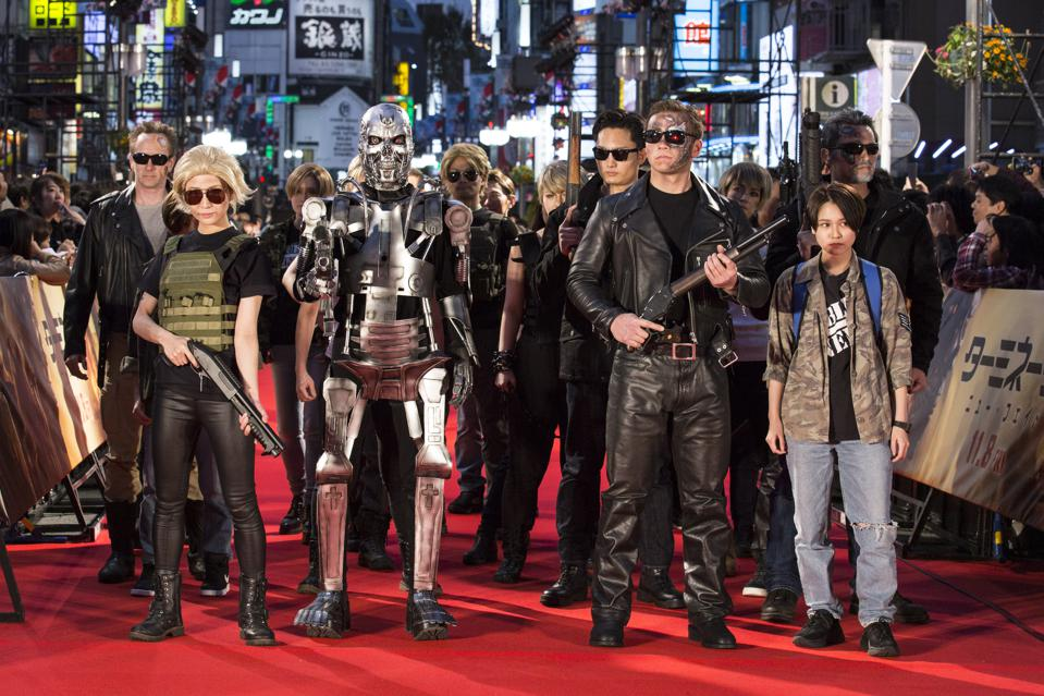 'Terminator: Dark Fate' Premiere In Tokyo