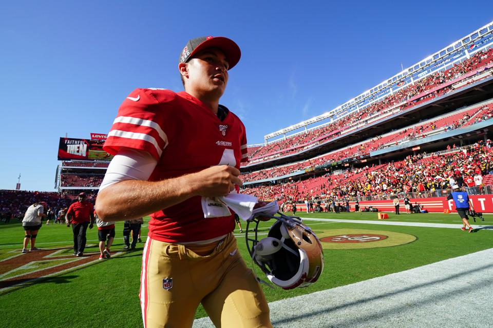 Nick Mullens, San Francisco 49ers