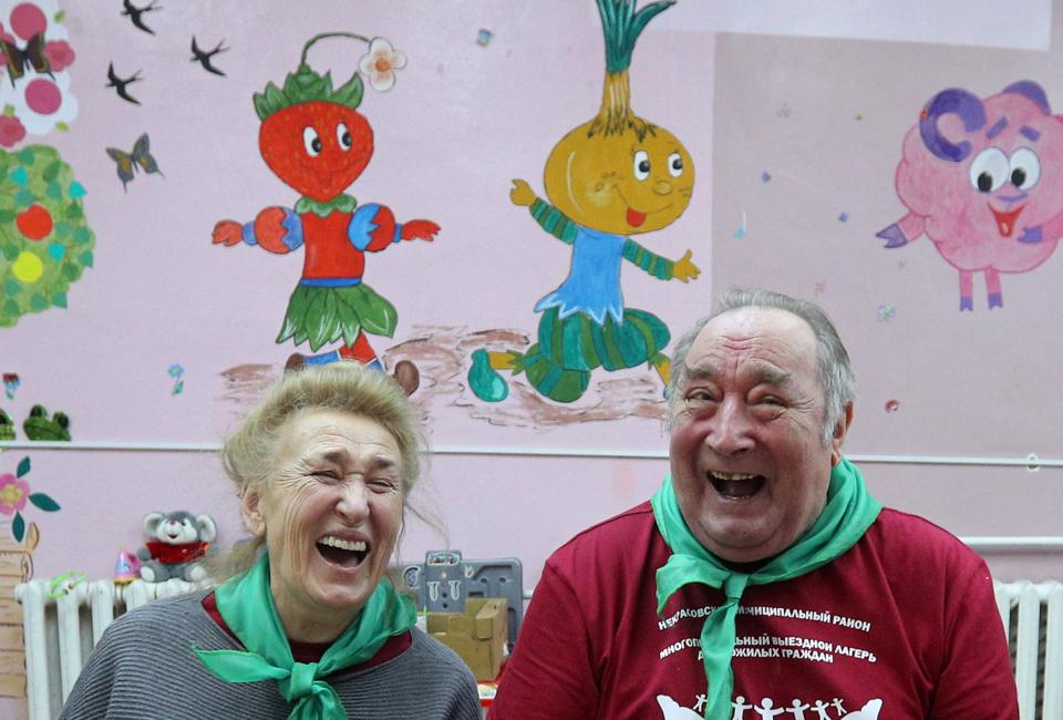 Vtoroye Dykhaniye health and leisure programme for elderly people in Yaroslavl Region, Russia