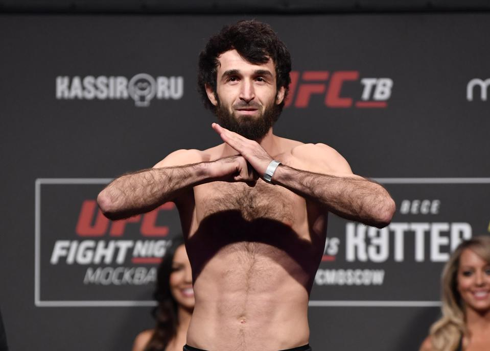 UFC Fight Night Zabit v Kattar: Weigh-Ins