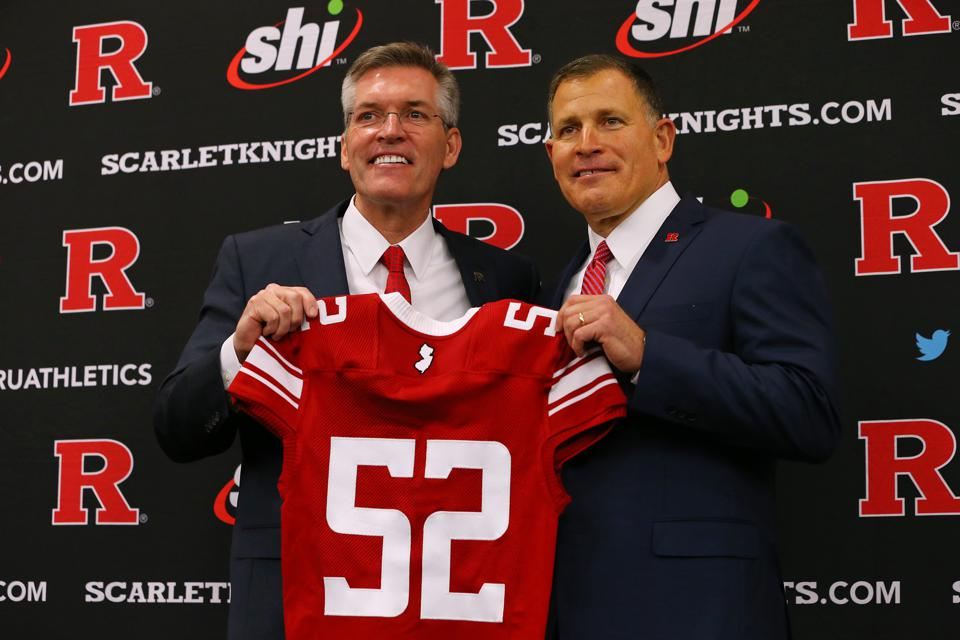 Rutgers Athletic Director Pat Hobbs Has A Skill That Can Make His Arranged Marriage With Greg Schiano Work
