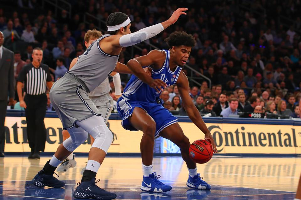 COLLEGE BASKETBALL: NOV 22 2K Empire Classic - Georgetown v Duke
