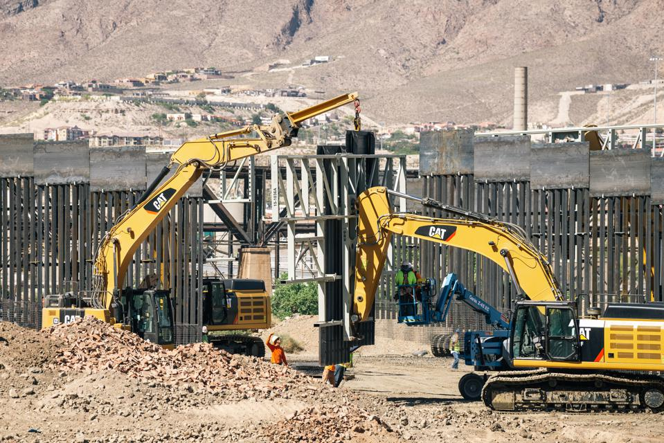 SUNLAND PARK,  NEW MEXICO - MAY 24: Fisher Industries workers d