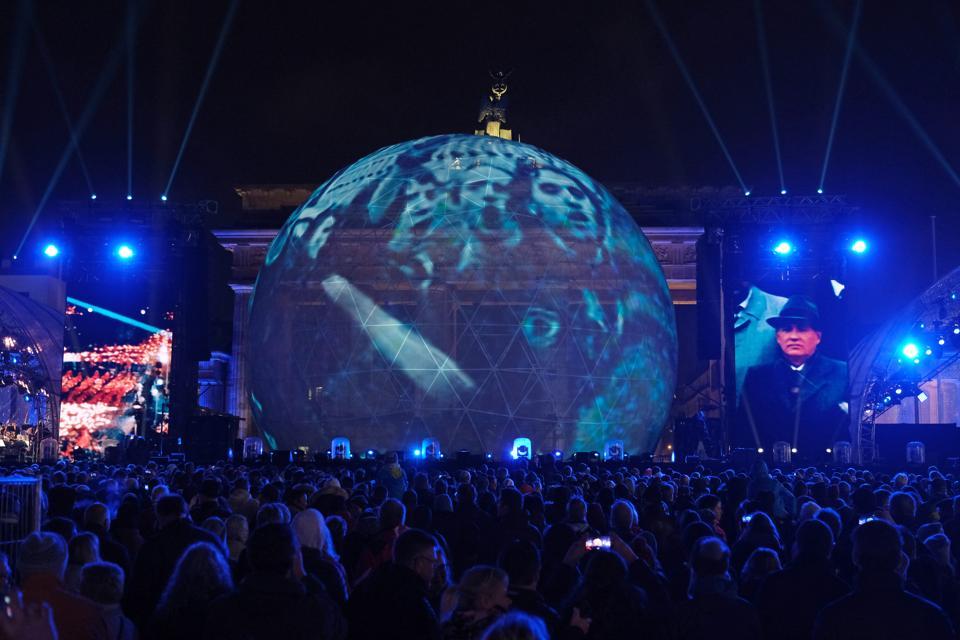 Germany Celebrates 30th Anniversary Of Berlin Wall