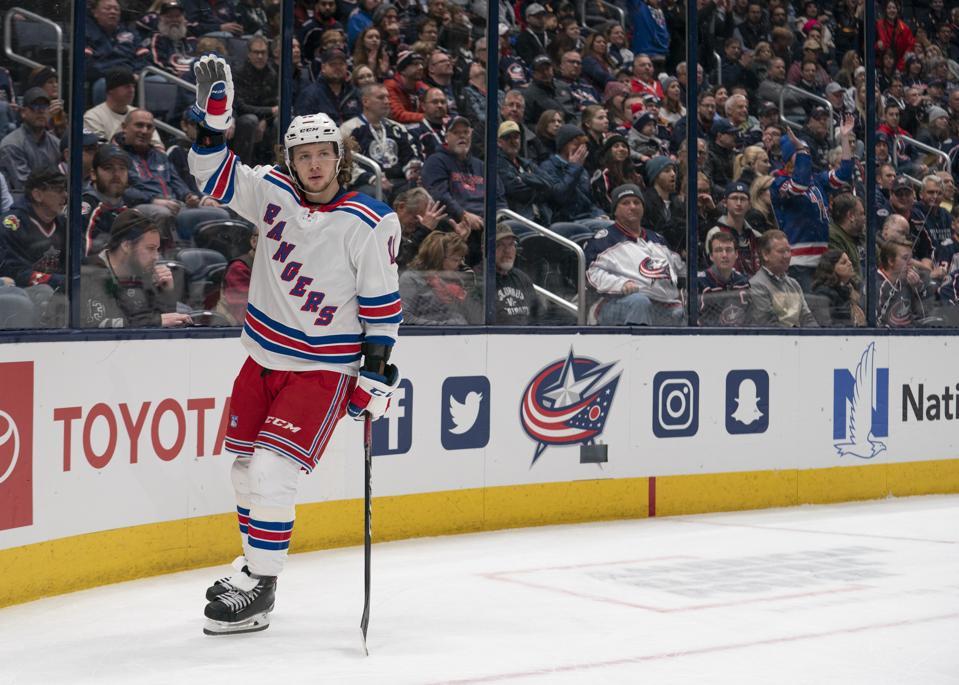 NHL: DEC 05 Rangers at Blue Jackets