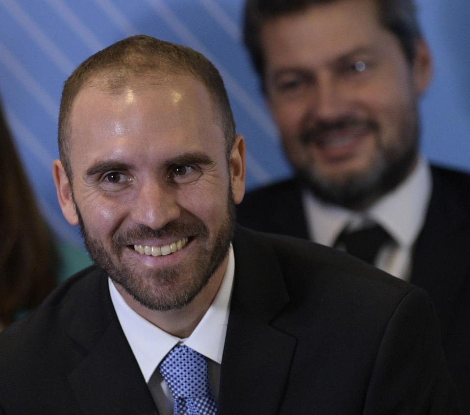 ARGENTINA-CABINET-FERNANDEZ-ANNOUNCEMENT