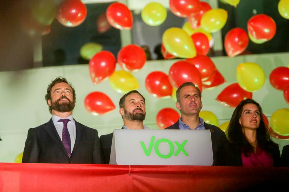 Spain's Political Parties Await Result Of General Election