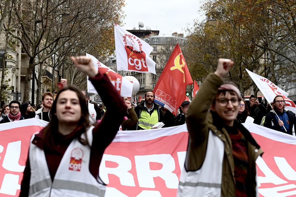 FRANCE-LABOUR-UNEMPLOYMENT-UNIONS