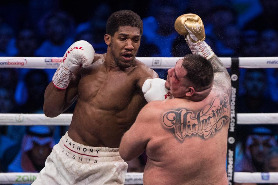 Anthony Joshua vs Tyson Fury odds purses